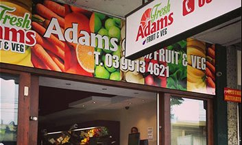 Adams Fresh Fruit and Veg Logo