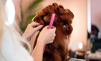 Afrah Hair Salon Logo