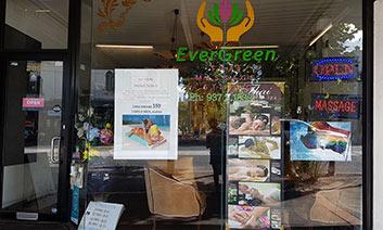 EverGreen Thai Massage Studio Logo 1