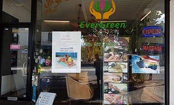 EverGreen Thai Massage Studio Logo