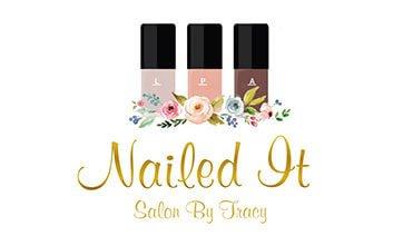 Nailed It Salon by Tracy Logo